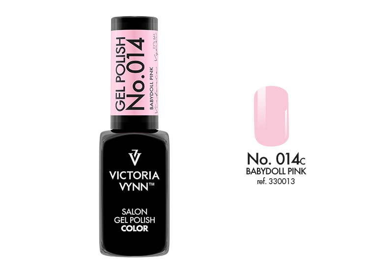 Victoria Vynn Salon Gel Polish COLOR kolor: No 014 Babydoll Pink