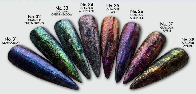 Pyłek dekoracyjny : Glamour Multicolor No.34