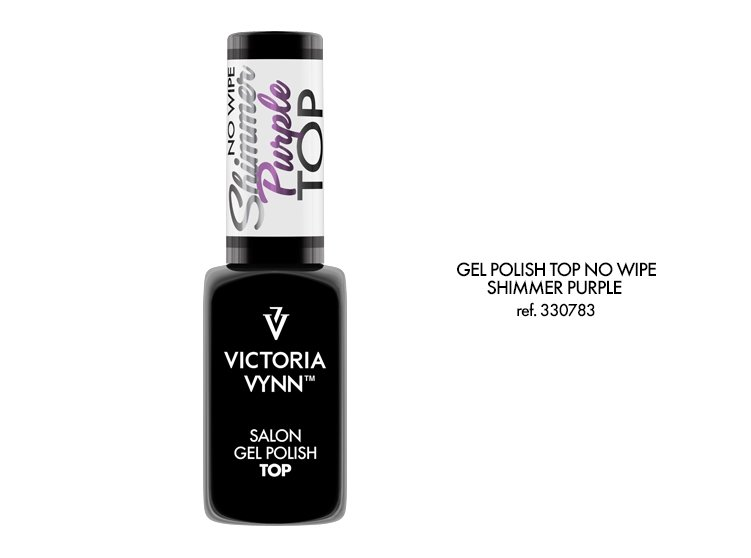 Top no wipe Shimmer Purple  (bez przemywania)