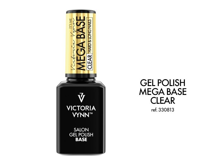 Gel Polish Base - Mega Base HARD - 15 ml