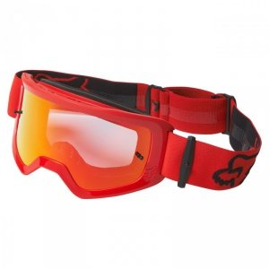 GOGLE FOX MAIN STRAY SPARK FLUORESCENT RED OS