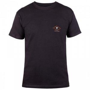 T-SHIRT REBELHORN CASUAL BLACK/RED/WHITE XL