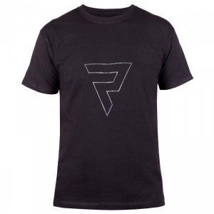 T-SHIRT REBELHORN CASUAL BLACK/GREY M