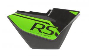 Obudowa boczna prawa czarno-zielona do motoroweru Sprint 2