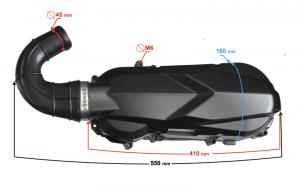 Pokrywa napędu ATV Mikilon 180 (H)
