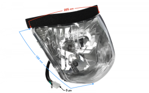 Reflektor do motoroweru Sprint 2