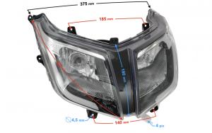 Reflektor do skutera E-Max