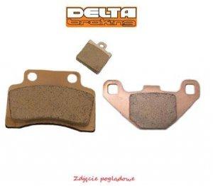 Klocki hamulcowe motocyklowe DELTA DB2290 (odpowiednik FA357)