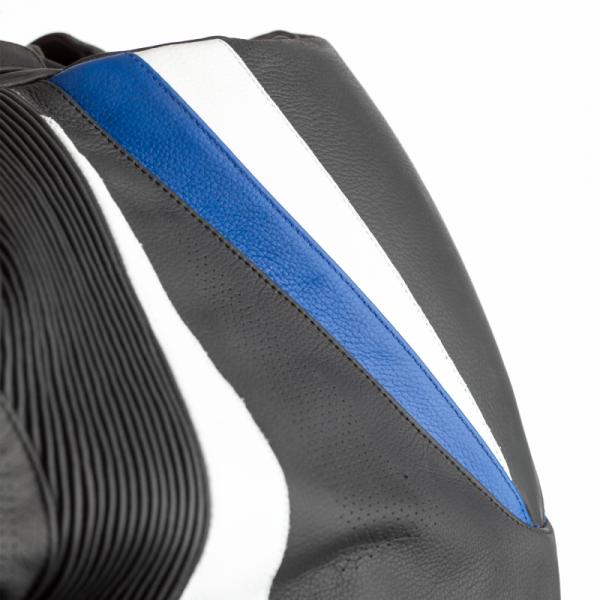 KURTKA SKÓRZANA RST TRACTECH EVO 4 CE BLACK/BLUE S (2357)