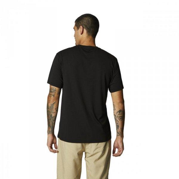 T-SHIRT FOX BADGE TECH BLACK S