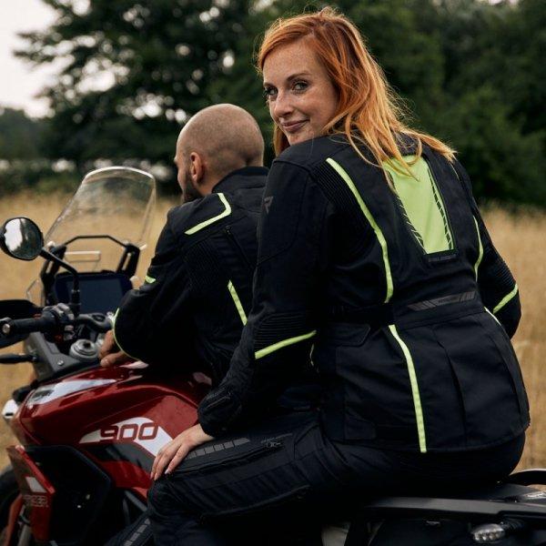 KURTKA TEKSTYLNA REBELHORN HIKER III LADY BLACK/GREY/FLO YELLOW DXXL