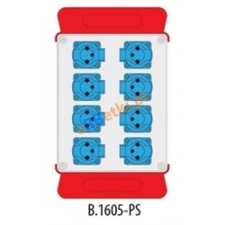 Rozdzielnica .R-BOX 240 8x230V, podstawa stalowa (komplet 2 szt.), IP44