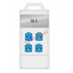 Rozdzielnica R-BOX SLIM 10S 4x230V, IP44