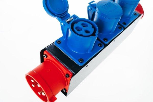 Electricbox rozgałęziacz zasilania 3 fazy 32A