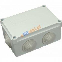 Puszka instalacyjna S-BOX 206 120 x 80 x 50, 6 dławików, IP 55