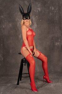 Bodystocking Amrin Red
