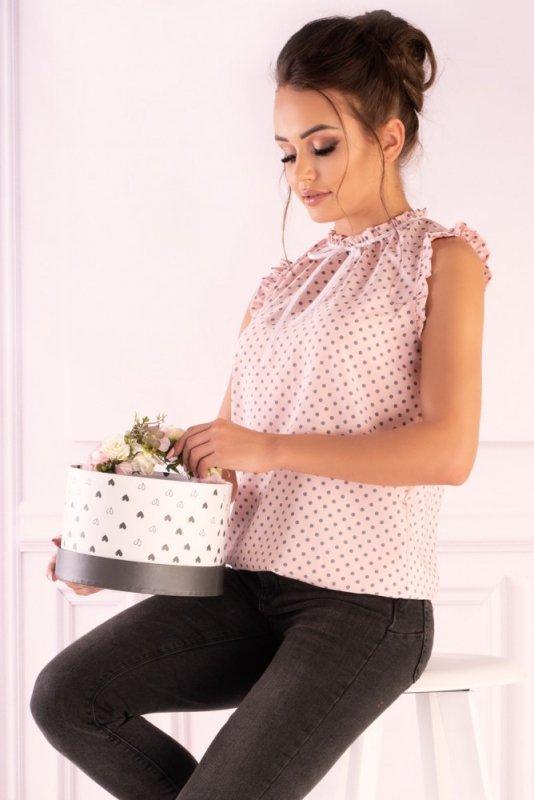 Bluzka Amargo Pink Grey