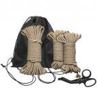 Kink Bind & Tie Initiation Kit 5 Piece Hemp Rope