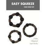 Easy Squeeze Cock Ring Set Linx
