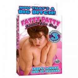 Fatty Patty Doll with 3 Love Holes ~ Flesh