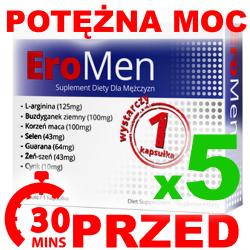 EroMen 5caps Potężna mocna erekcja potencja w 30min