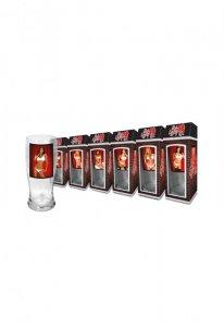 Szkło-Szklanka do piwa Red Light Kobiety