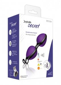 Kulki-Joyballs secret, violet-black