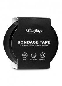 Wiązania-Black Bondage Tape 20 m