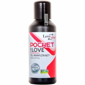 POCKET FOR LOVE 100ml BEZPIECZNY ŻEL LUBRYKANT NA BAZIE WODY