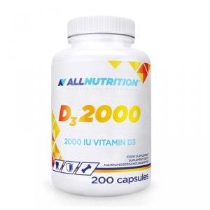 Allnutrition Witamina D3 2000 200k odporność