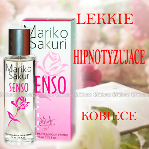 Mariko Sakuri SENSO 50 ml PORANNY EROTYCZNY ZAPACH + FEROMONY
