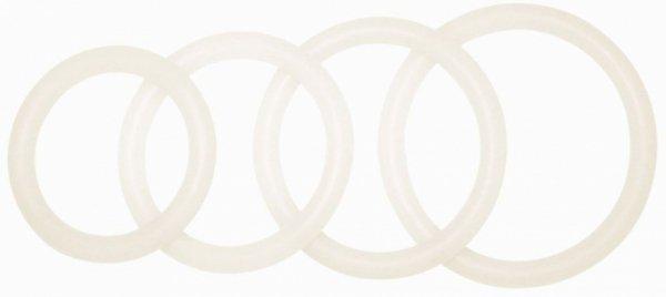 Pierścień POTENZplus,transparent, size: L***