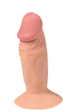 Korek Analny z przyssawką i wibracjiami w kształcie penisa 10cm