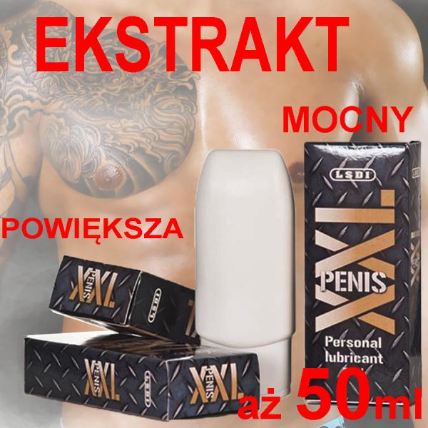 Ekstrakt Powiększający Penisa XXL 50ml DYSKRETNA TUBKA