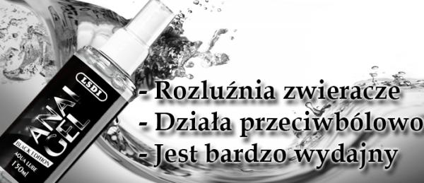 Żel analny 150ml ROZLUŹNIA ODBYT