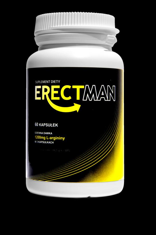 3opak ERECTMAN Mocny suplement na erekcję 180caps.