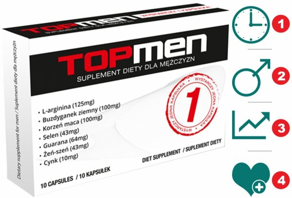 TopMen erekcja potencja 10kaps