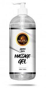 Olejek do masażu NURU JAPANER 1L uwalnia podniecenie