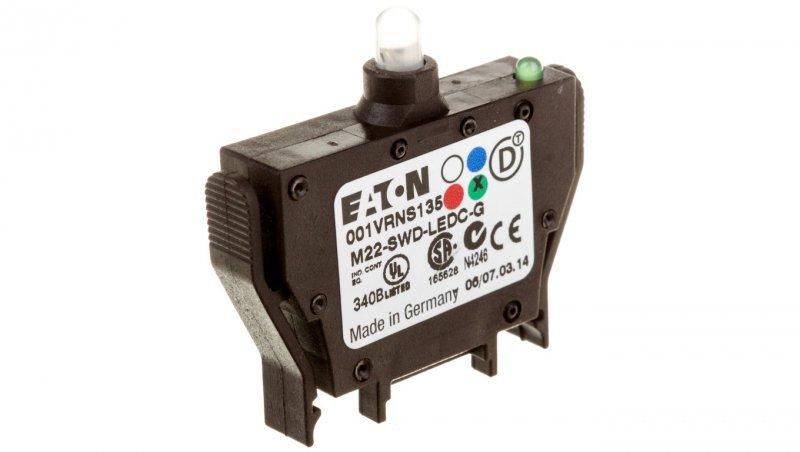 Dioda zielona  mocowanie tylne  SmartWire-DT M22-SWD-LEDC-G 115999
