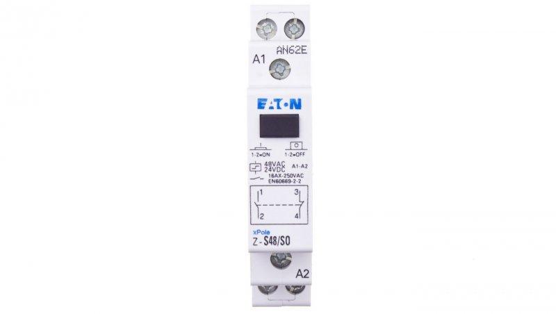 Przekaźnik impulsowy 16A 48V AC 1Z 1R Z-S48/SO 265538
