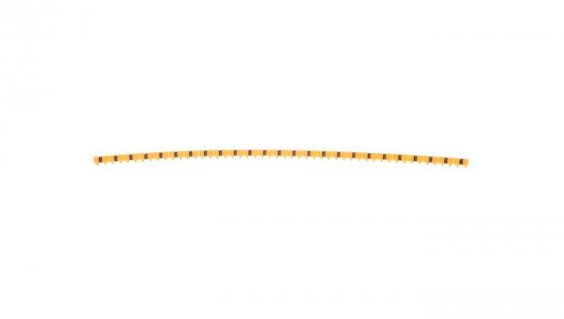 Oznacznik żółty Symbole CAB3 0,15-0,5 /=/ 038145 /300szt./