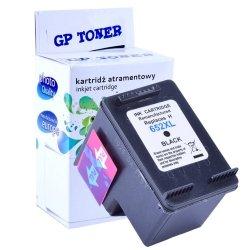 Tusz do HP 652 XL Deskjet Ink Advantage 1115 2135 2136 3635 3775 3785 3835 4535  - zamiennik GP-H652XLBK Czarny