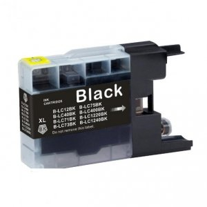 Tusz Zamiennik Brother LC1240BK - DCP J430W, J525W, MFC J625DW, J5910D - GP-B1240BK black