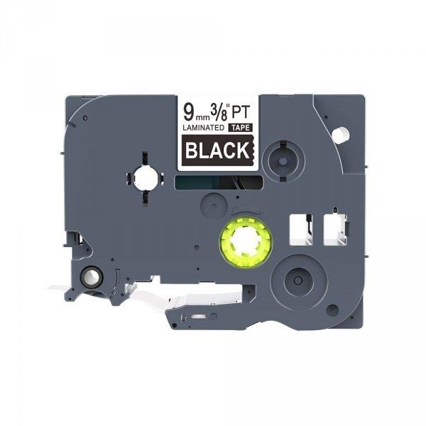 Taśma zamiennik do Brother TZ-325 Biały na Czarnym