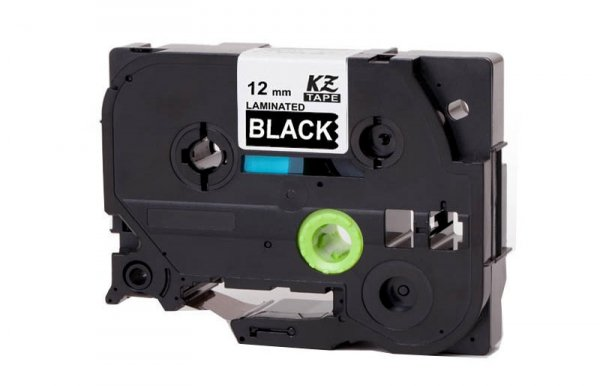 Taśma zamiennik do Brother TZ-335 Biały na Czarnym