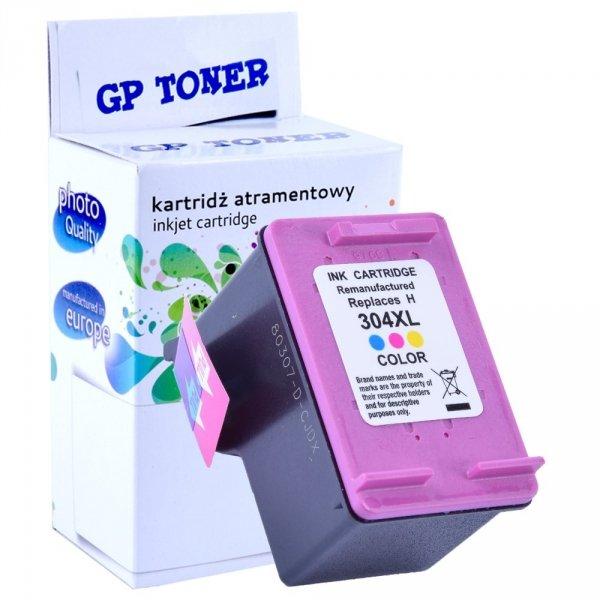 Zamiennik Tusz do HP 304 XL Deskjet 2620 2630 2632 2633 3720  - GP-H304XL Kolor