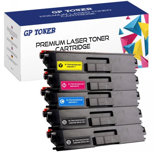5 Toner do Brother tn-423 HL-L8260 HL-L8360 DCP-L8410 MFC-L8690 MFC-L8900 cdw - GP-B423CMYKK