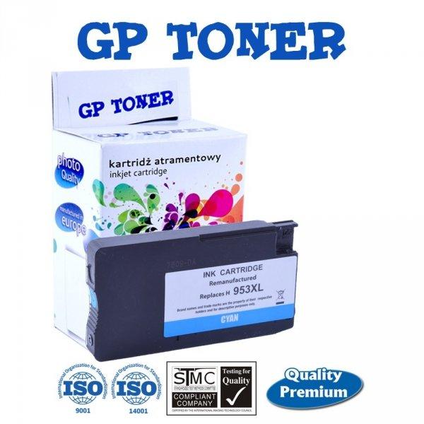 Tusze do HP 953XL OfficeJet Pro 7740 8210 8710 8720 8730  - GP-H953XL C Cyan