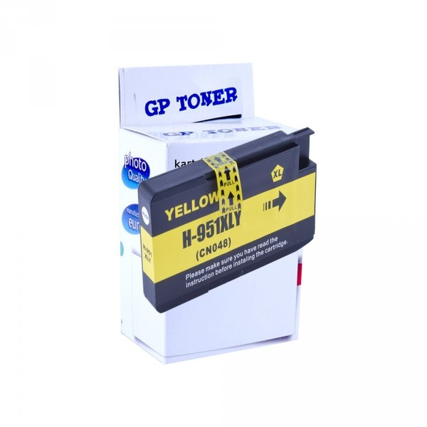 Zamiennik Tusz do HP 951XL OfficeJet Pro 8100 8600 251dw Yellow