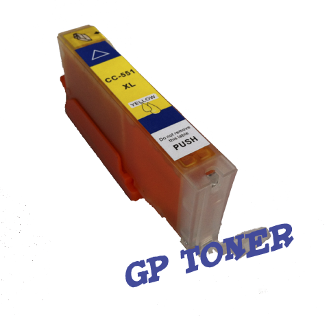 Tusz Zamiennik Canon CLI-551XL IP7250, MG5450, MG6350, MX725, MX925 - GP-C551XLY Yellow